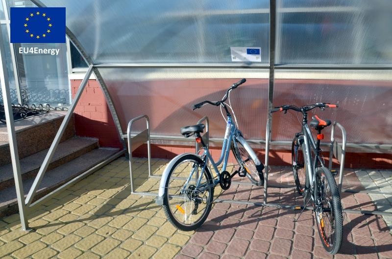 Инфраструктура для велодорожки в Кобрине.jpg